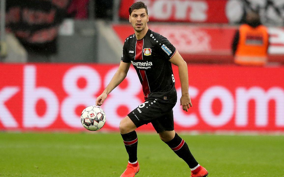 Platz 4: Alexander Dragovic (Bayer Leverkusen)  - Bildquelle: 2019 Getty Images