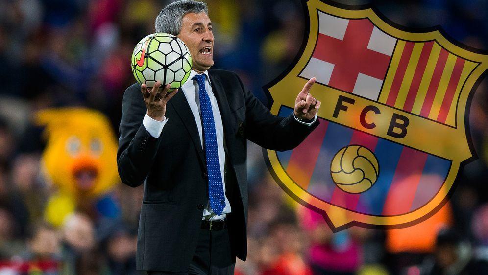 Quique Setien übernimmt den Trainerposten beim FC Barcelona - Bildquelle: 2016 Getty Images