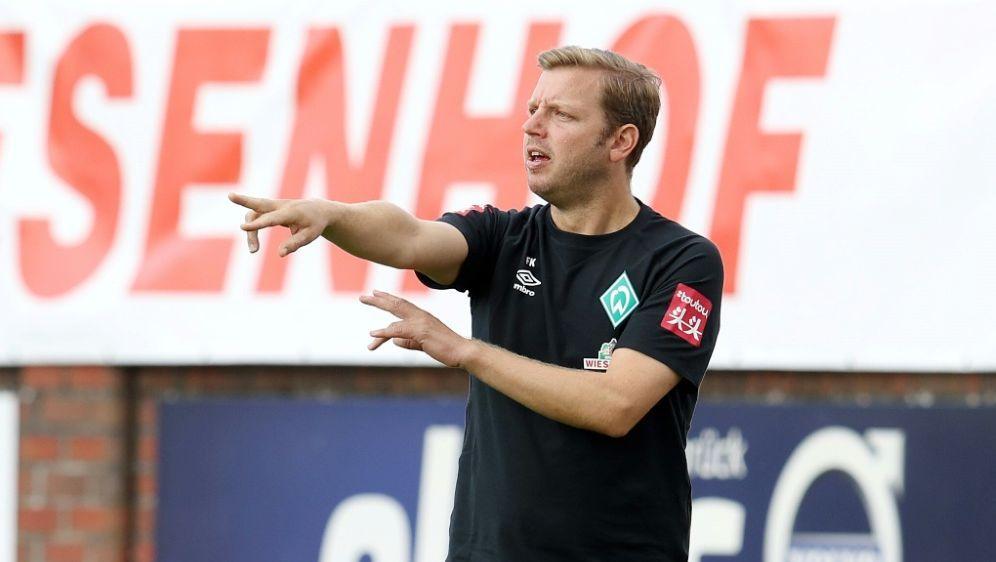Am Samstag trifft Kohfeldt mit Bremen auf Schalke 04 - Bildquelle: FIROFIROSID