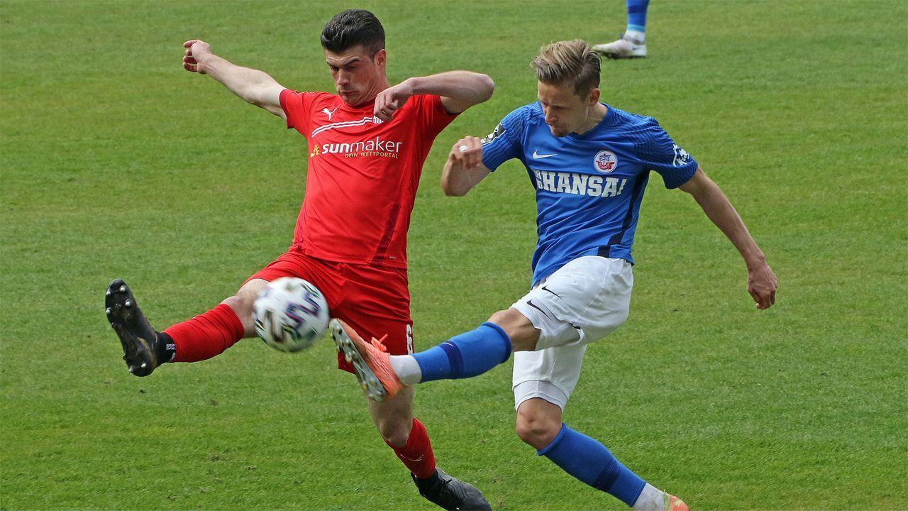 2. FC Hansa Rostock (67 Punkte, 50:32 Tore) - Bildquelle: Imago Images