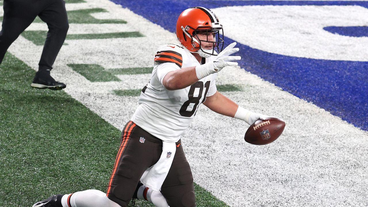 Platz 6: Austin Hooper (Chicago Bears) - Bildquelle: 2020 Getty Images