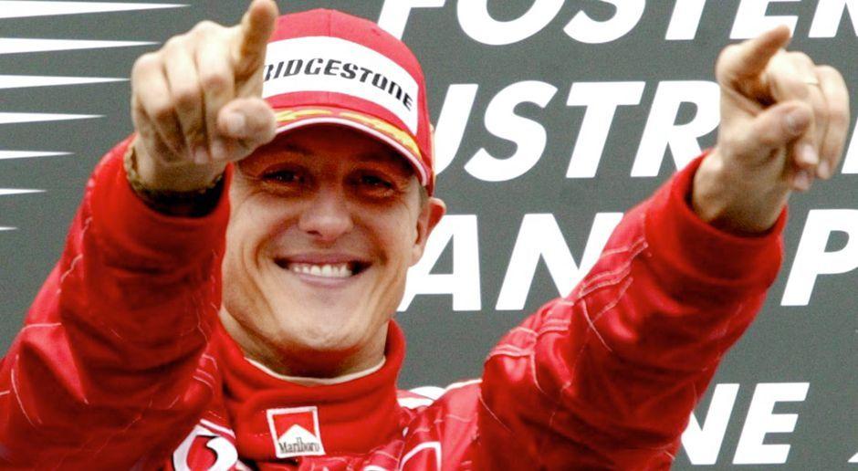 Platz 5: Michael Schumacher - Bildquelle: Getty Images