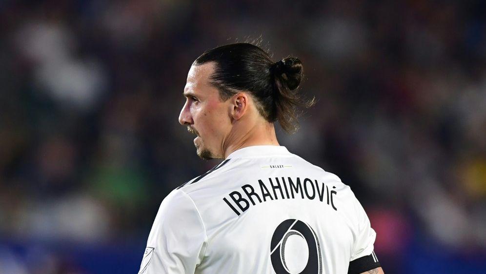 Wurde für zwei Spiele gesperrt: Zlatan Ibrahimovic - Bildquelle: AFPSIDFREDERIC J. BROWN