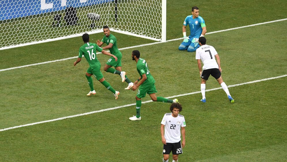 Ägypten verliert auch gegen Saudi Arabien. - Bildquelle: Getty Images