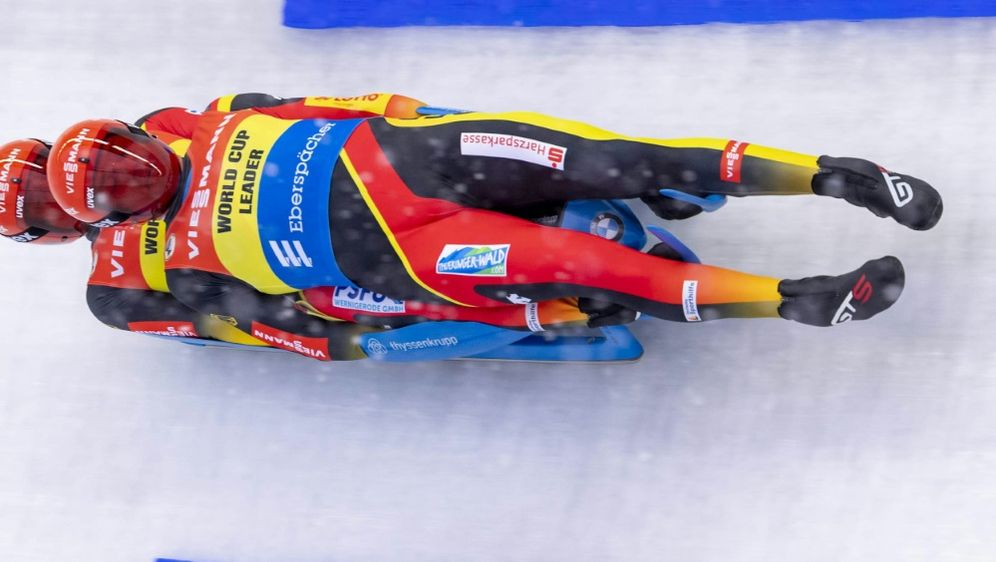 Zweite in Altenberg: Toni Eggert und Sascha Benecken - Bildquelle: pixathlonpixathlonSIDDIENER  Juergen Wassmuth