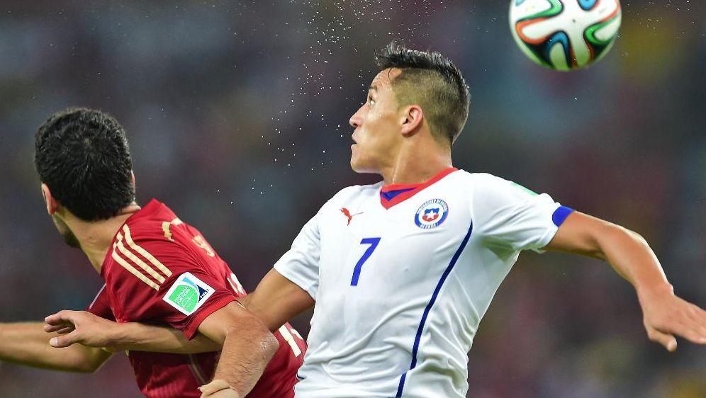 Spanien verliert gegen Chile mit 0:2 - Bildquelle: SID-SID-AFP