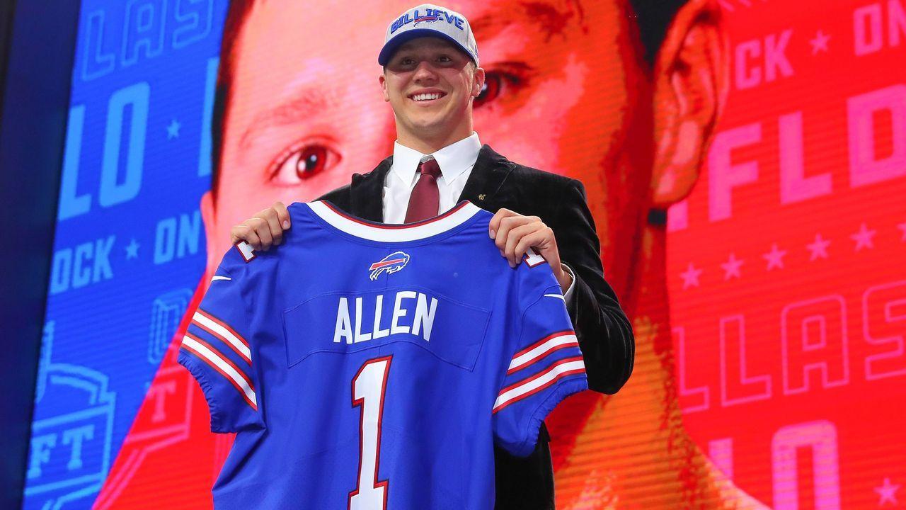 Josh Allen (7. Pick im Draft 2018, Buffalo Bills) - Bildquelle: imago/Icon SMI