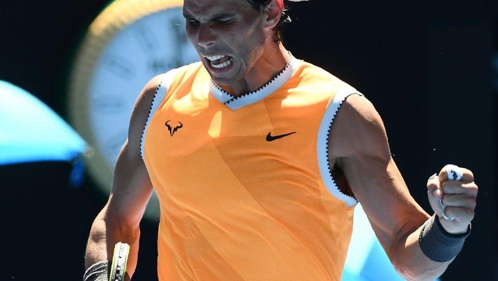 Nadal zieht souverän in die zweite Runde ein - Bildquelle: AFPSIDJewel SAMAD