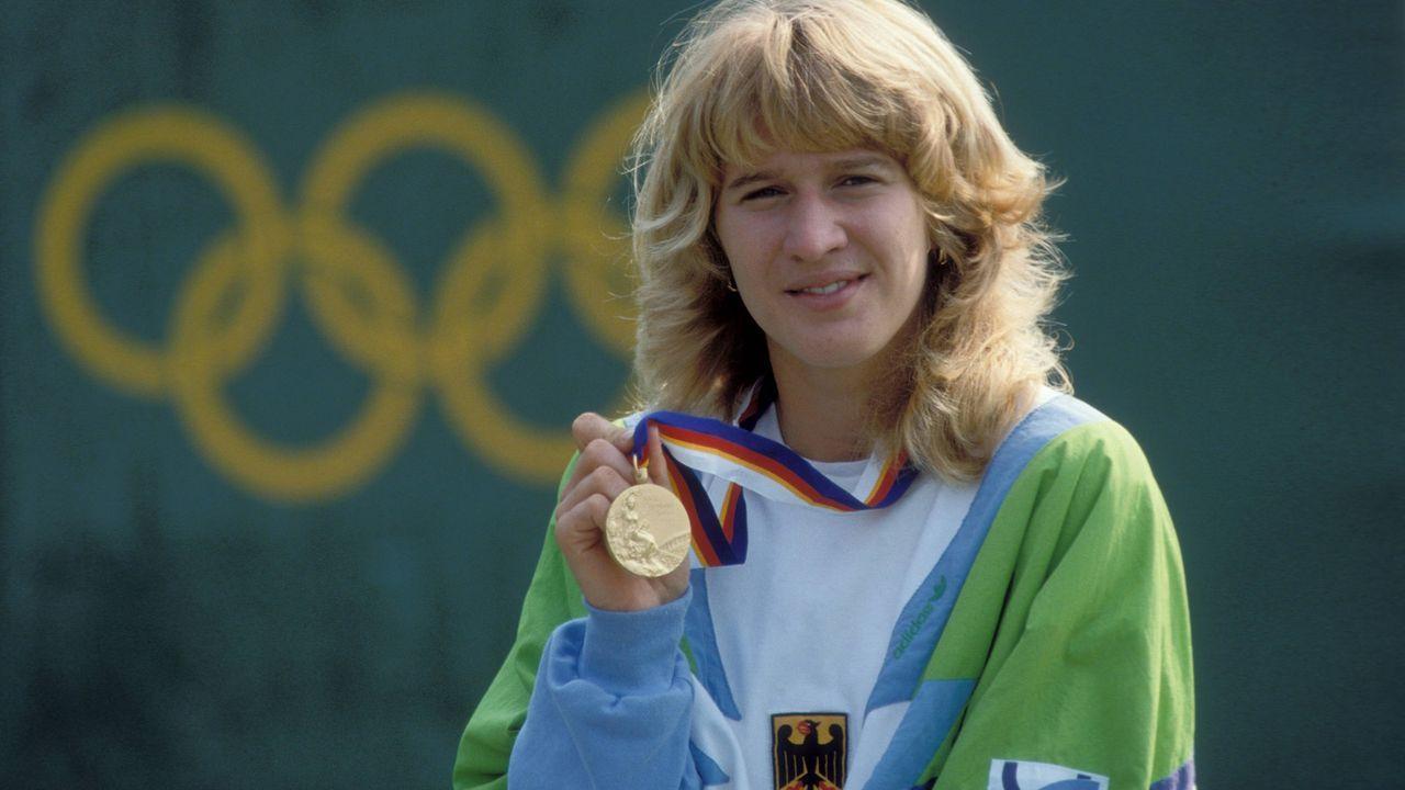 Steffi Graf gewinnt den Golden Slam - Bildquelle: imago/Sven Simon