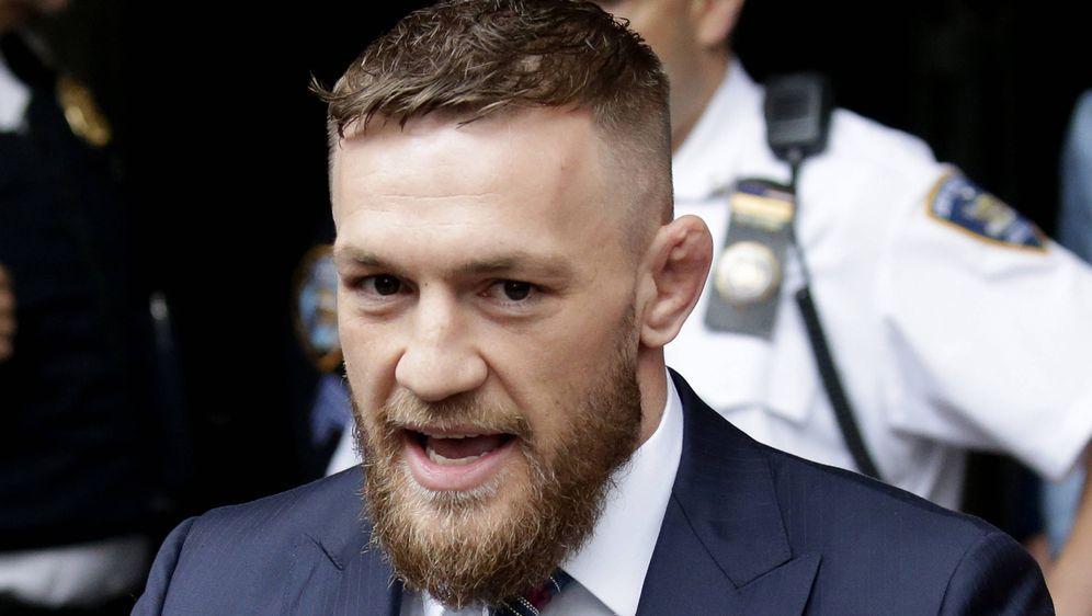 Conor McGregor feierte sein Ring-Comeback. - Bildquelle: imago images / UPI Photo