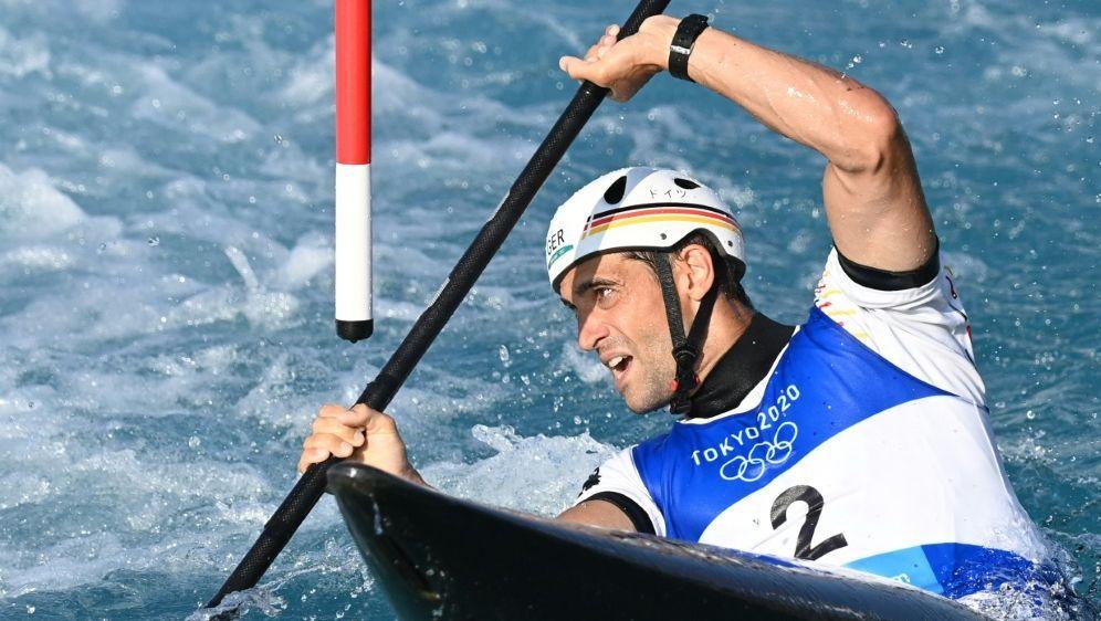 Hannes Aigner fährt um die Medaillen - Bildquelle: AFPSIDLUIS ACOSTA