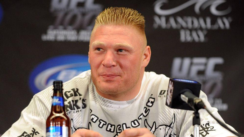 Brock Lesnar ist zurück in der UFC - Bildquelle: imago sportfoto