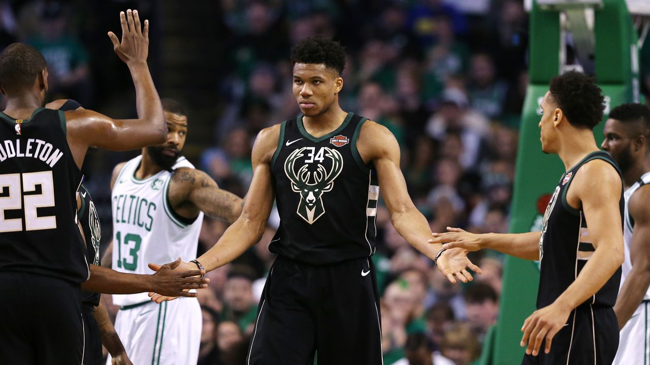 4. Platz im Osten: Milwaukee Bucks - Bildquelle: 2018 Getty Images