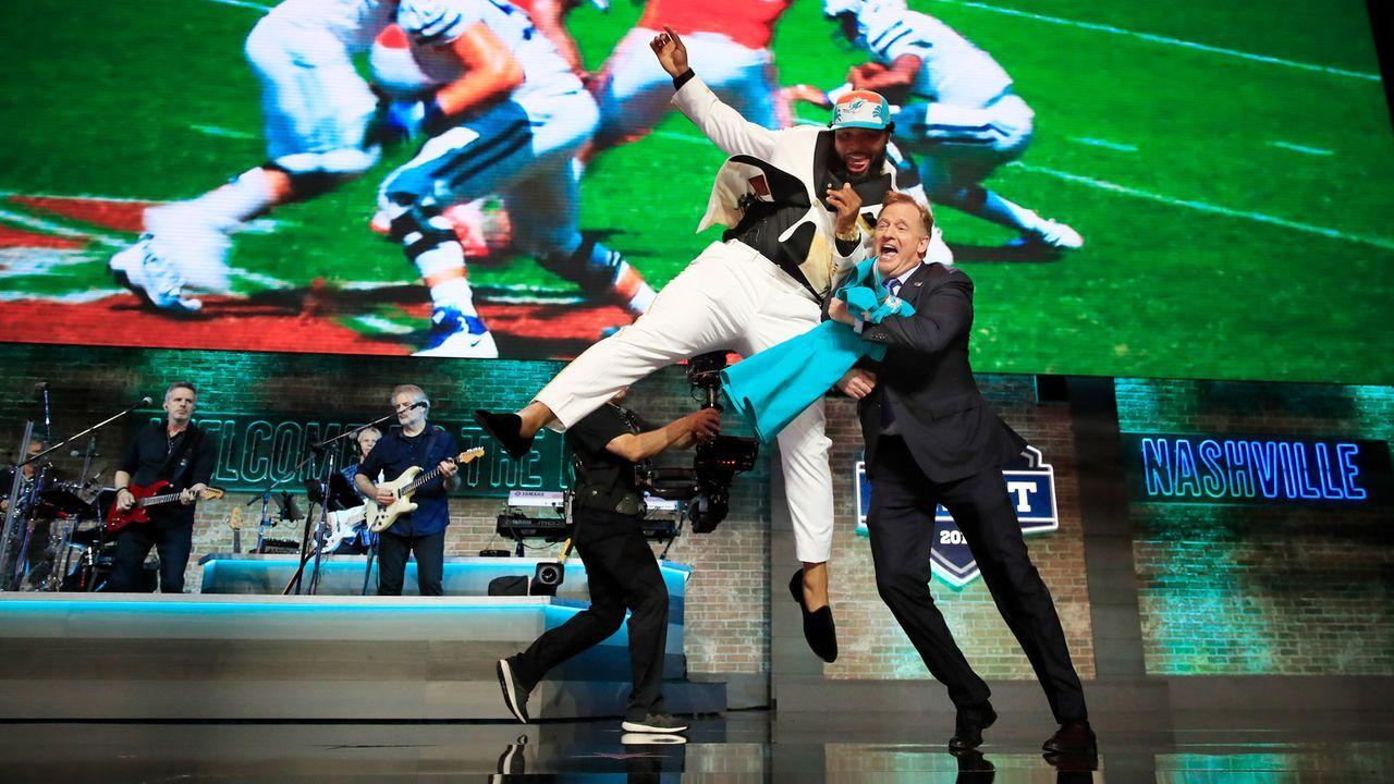 Draft Pick 13: Miami Dolphins - Bildquelle: Getty