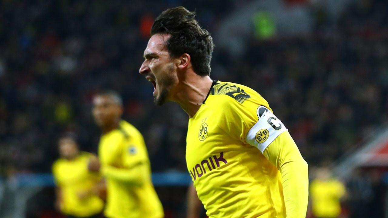 Platz 10: Mats Hummels (Borussia Dortmund) - Bildquelle: 2020 Getty Images