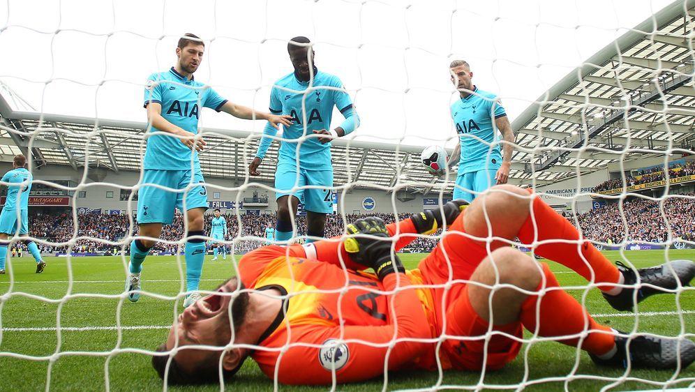 Hugo Lloris verletzt sich schwer - Bildquelle: Getty Images
