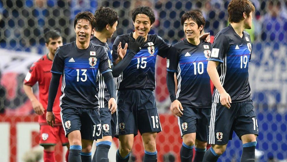 Japanische Fußballnationalmannschaft Aufstellung