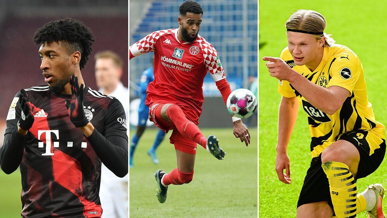 Die schnellsten Bundesligaspieler der Saison 2020/21 - Bildquelle: Imago Images