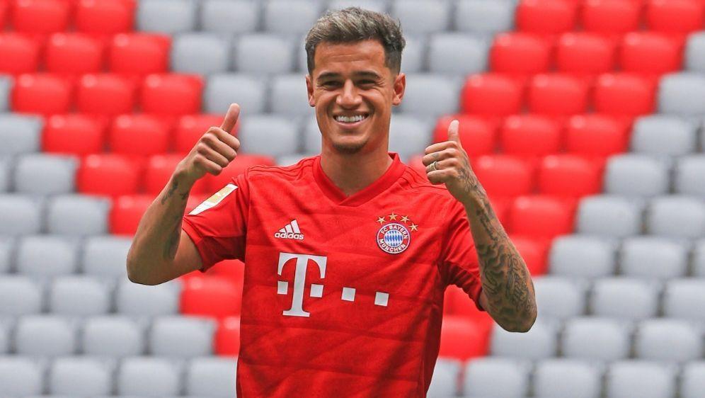 Bayerns neues Aushängeschild: Philippe Coutinho - Bildquelle: PIXATHLONPIXATHLONSID