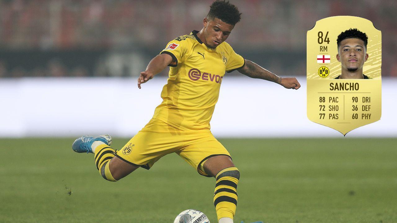 2. Jadon Sancho (Borussia Dortmund) - Bildquelle: 2019 Getty Images