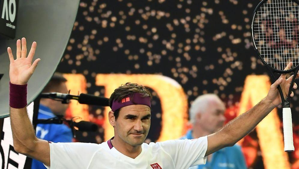 Dramatischer Sieg gegen Tennys Sandgren: Roger Federer - Bildquelle: AFPSIDMANAN VATSYAYANA
