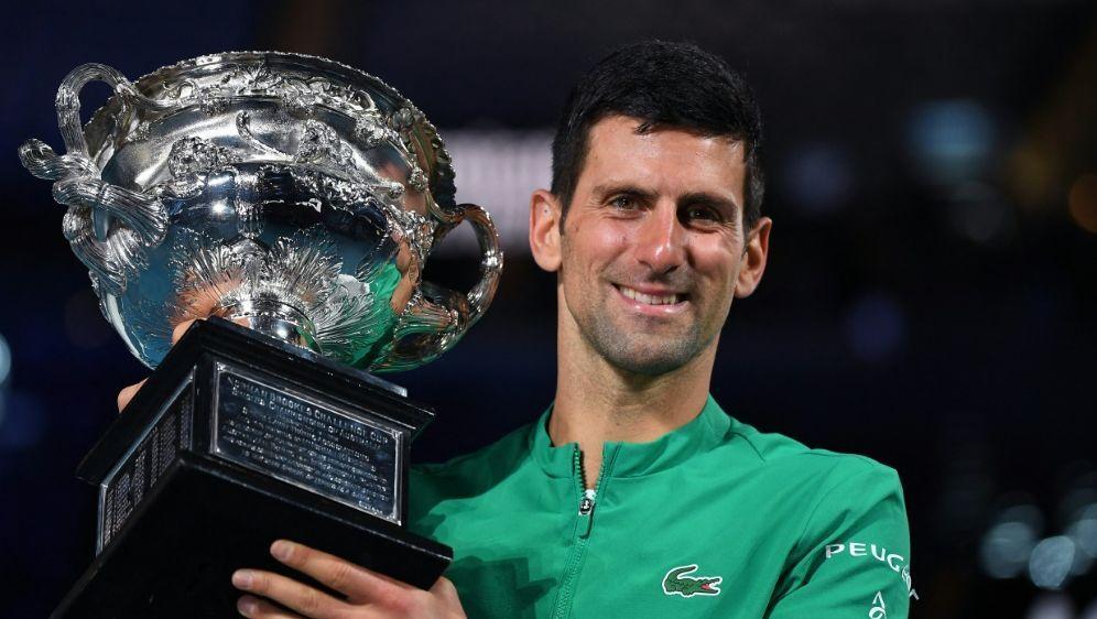 Bauchmuskelverletzung zwingt Djokovic zu Pause - Bildquelle: AFPSIDWILLIAM WEST