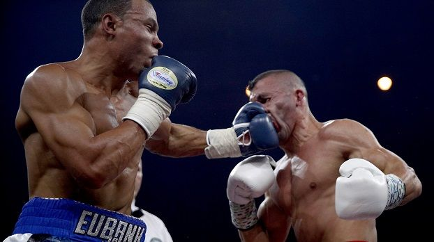 1. Halbfinale (Supermittelgewicht): George Groves (ENG) vs. Chris Eubank Jr. (ENG) - Bildquelle: Getty Images