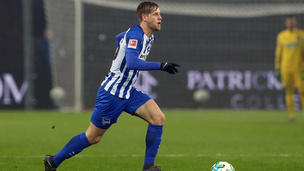 Arne Maier (Hertha BSC) - Bildquelle: 2018 Getty Images