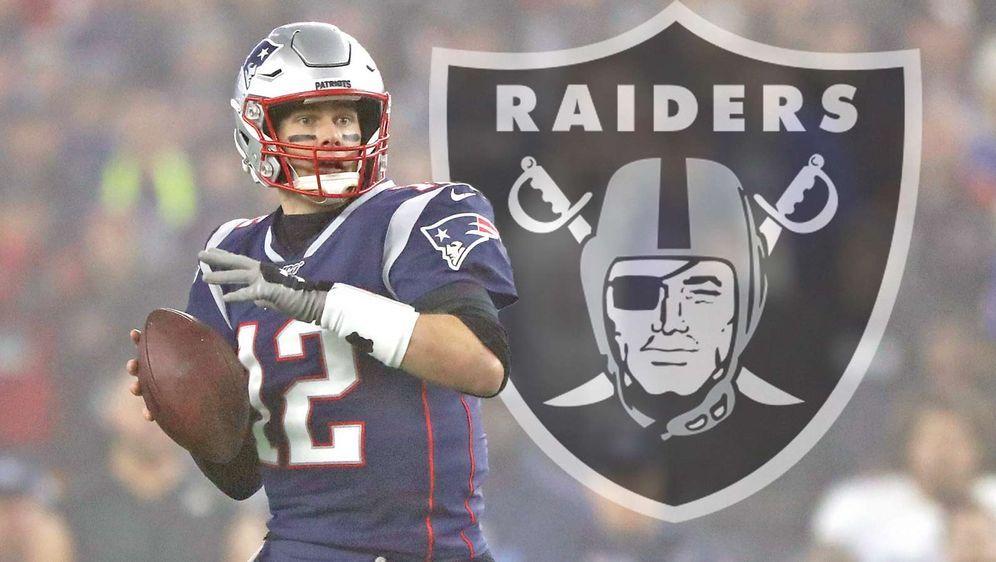 Die Las Vegas Raiders sollen ein Angebot für Tom Brady vorbereiten. - Bildquelle: Getty