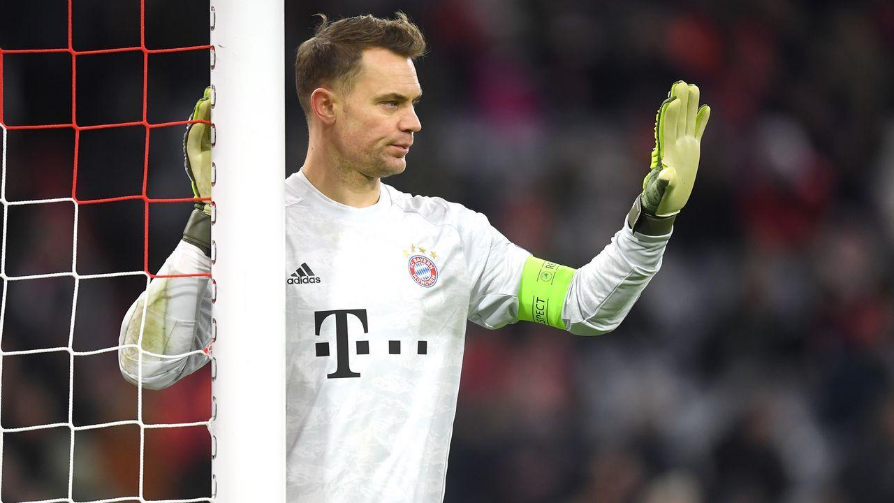 Tor: Manuel Neuer - Bildquelle: 2019 Getty Images