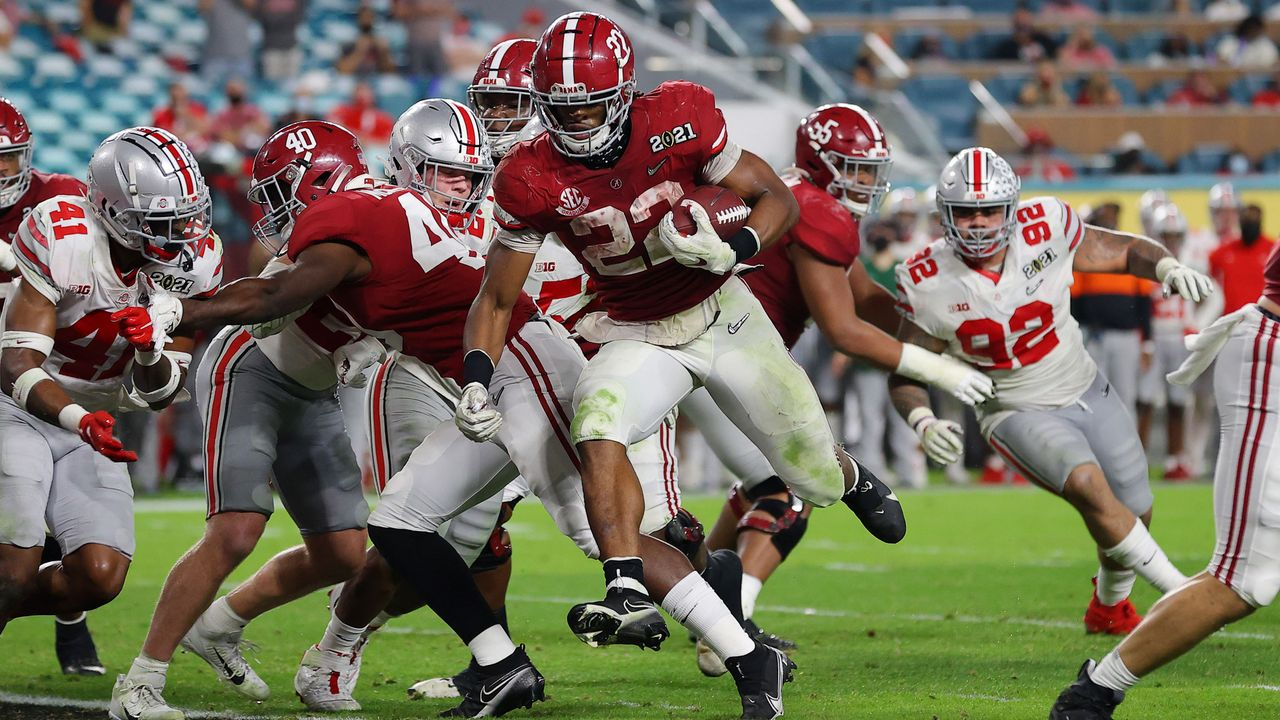 Running Back Najee Harris (Alabama) - Bildquelle: GettyImages
