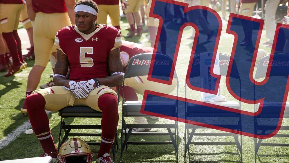Kamrin Moore spielte bei den Boston College Eagles, bevor er in die NFL zu d... - Bildquelle: 2016 Getty Images