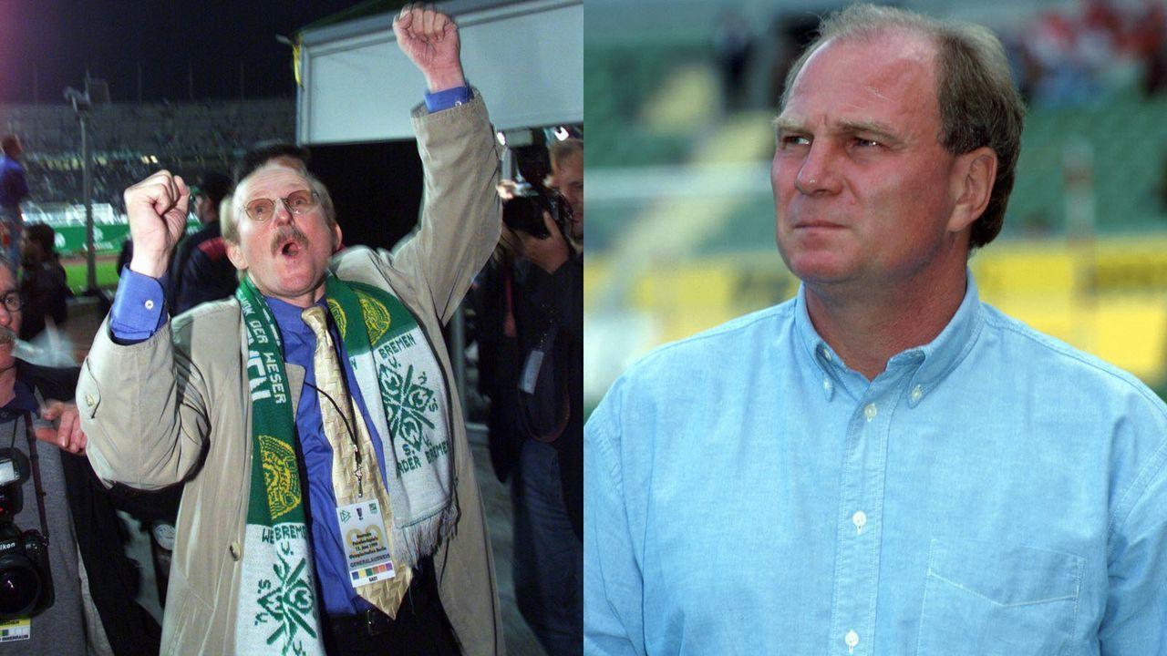 Lemke vs. Hoeneß: Die große Manager-Rivalität - Bildquelle: imago