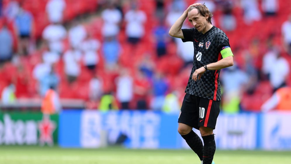 EM 2021: Kroatien bei der EM gegen Schottland - Bildquelle: 2021 Getty Images