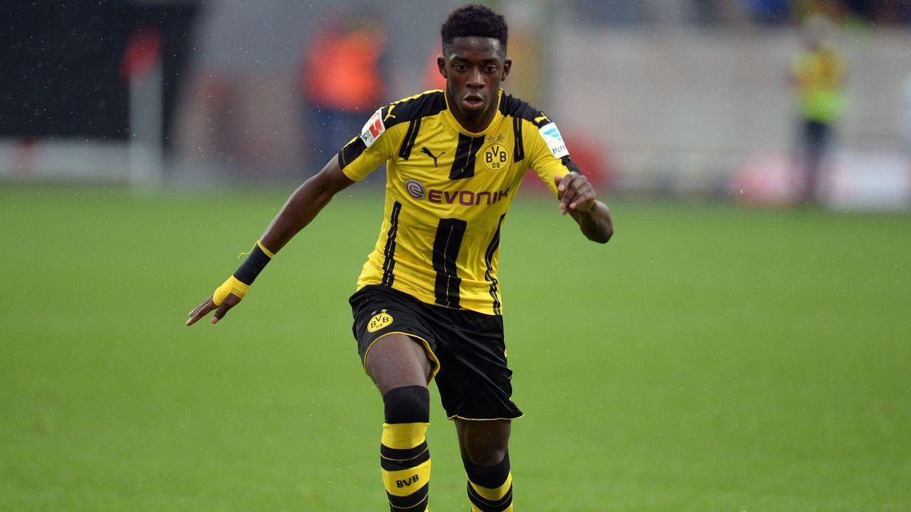 Platz 1: Ousmane Dembele - Bildquelle: 2016 Getty Images