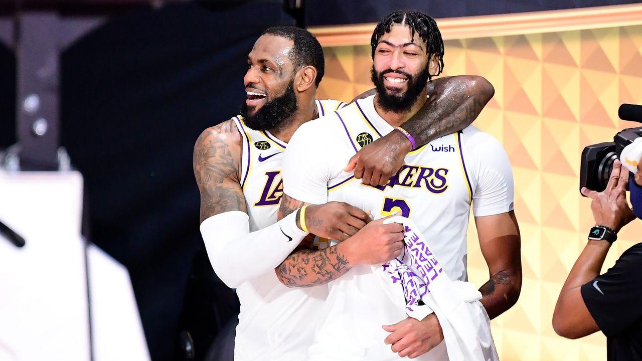 Platz 1 - Los Angeles Lakers - Bildquelle: Getty Images