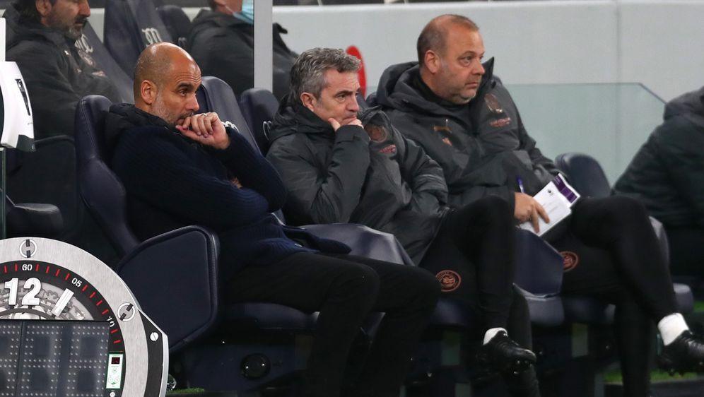 Guardiola und ManCity kommen in der Liga einfach nicht in Tritt - Bildquelle: 2020 Getty Images