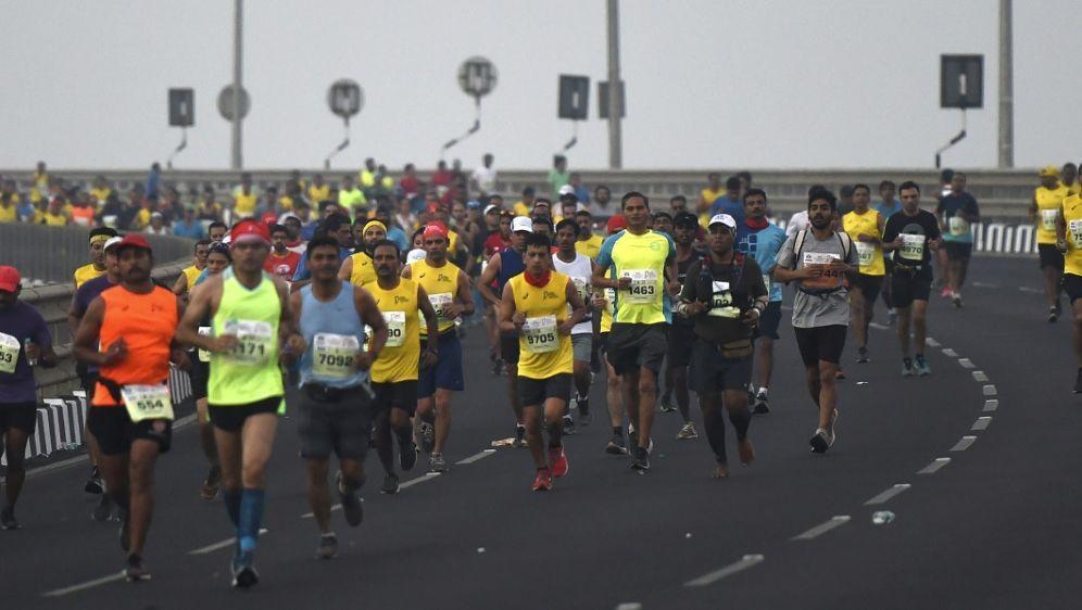 In Tokio dürfen keine Hobby-Läufer starten - Bildquelle: AFPSIDPUNIT PARANJPE