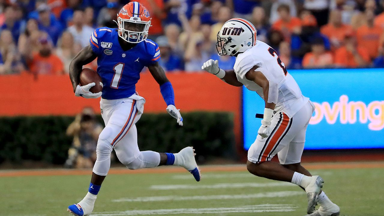 21. Pick - Indianapolis Colts: Kadarius Toney (WR, Florida) - Bildquelle: Getty Images