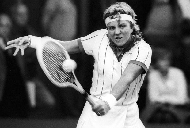 Sylvia Hanika gegen Martina Navratilova (1992) - Bildquelle: imago
