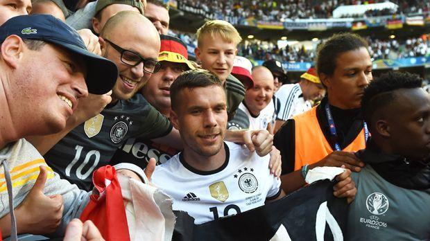 Lukas Podolski - Bildquelle: imago/Matthias Koch