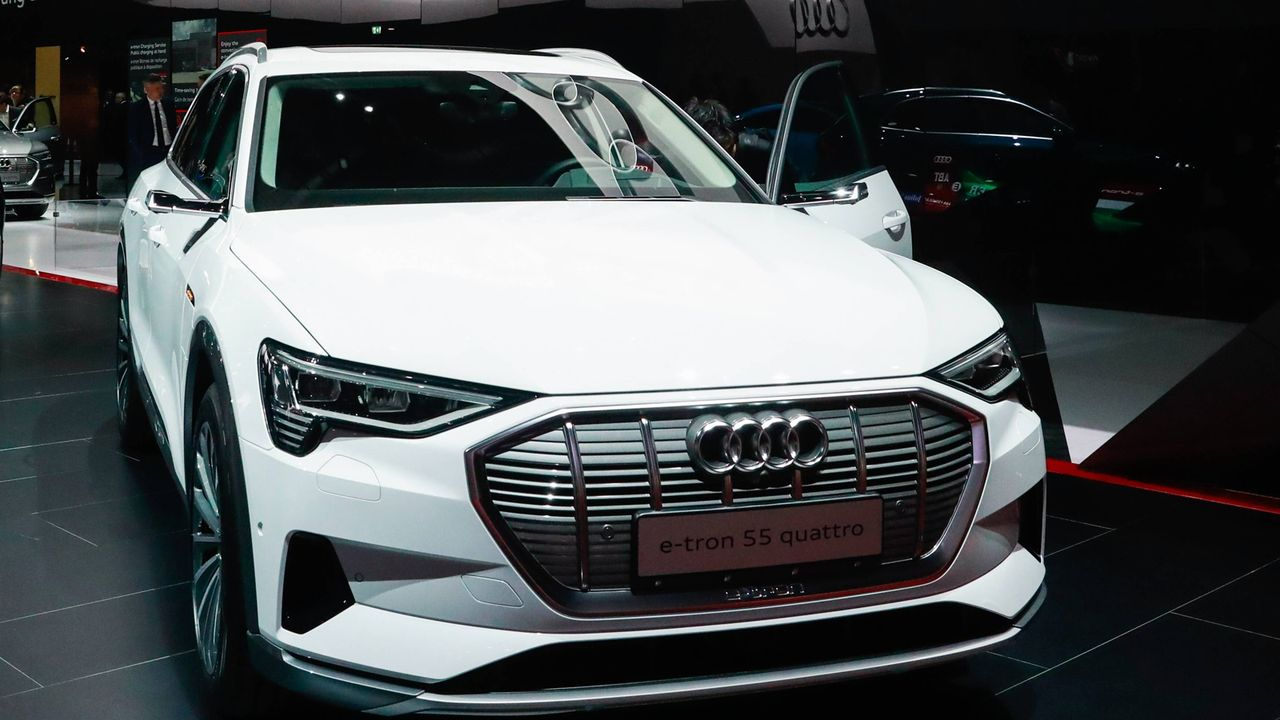 Audi e-tron 55 quattro - Bildquelle: imago images / ITAR-TASS