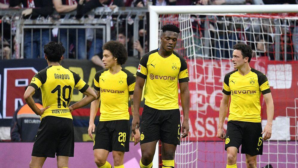 Der BVB enttäuschte in München auf ganzer Linie. - Bildquelle: Imago