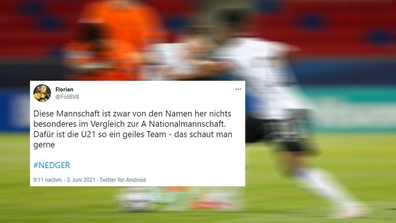 Twitter meint: U21 ist ein geiles Team - Bildquelle: twitter@FoliBVB