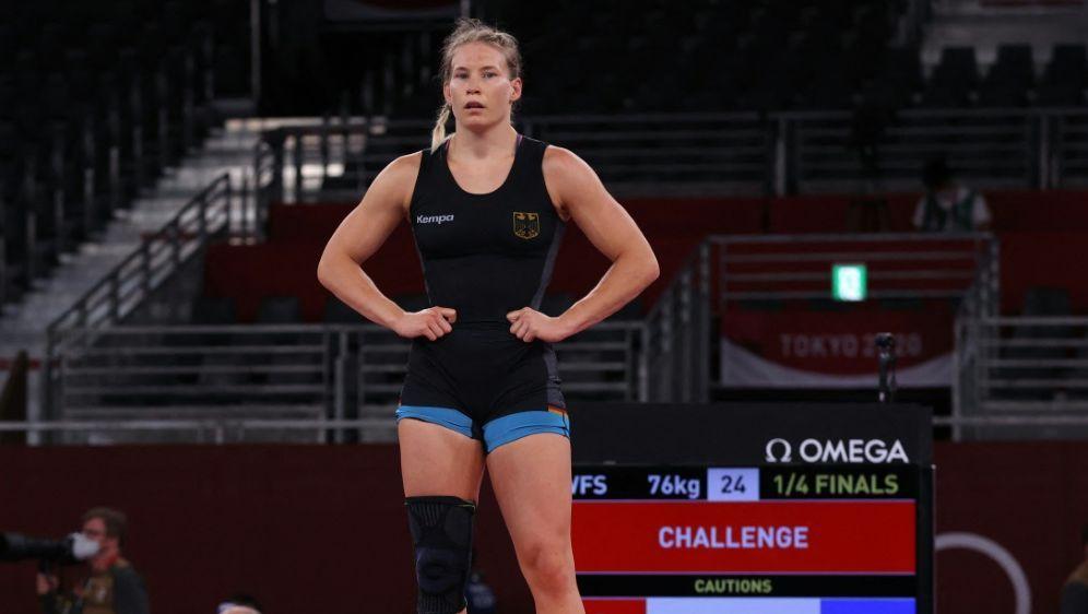Halbfinale für Ringerin Aline Rotter-Focken - Bildquelle: AFPSIDJACK GUEZ