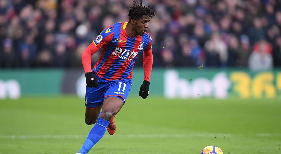 8. Wilfried Zaha (Crystal Palace) - Bildquelle: 2018 Getty Images