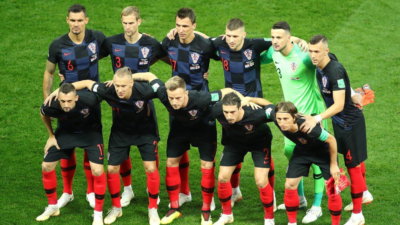 Kroatien teilte aus und steckte ein - Bildquelle: 2018 Getty Images