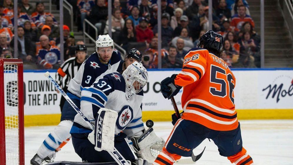 Niederlage für die Oilers gegen die Jets - Bildquelle: AFPGETTY SID
