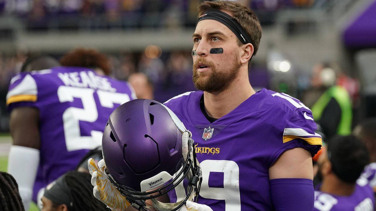Platz 6: Adam Thielen (Minnesota Vikings) - Bildquelle: imago