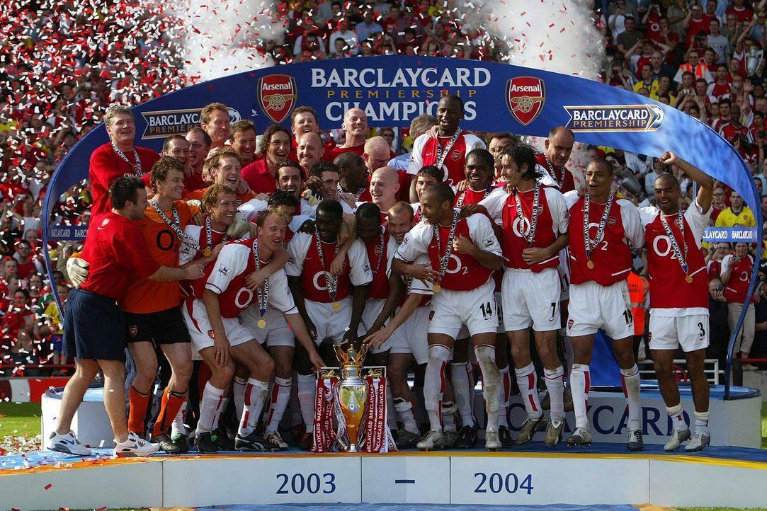 England: Arsenal London 2003/04